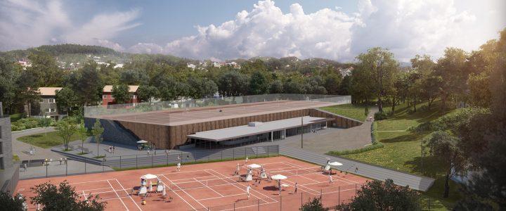 Ny oppdatering hallprosjektet