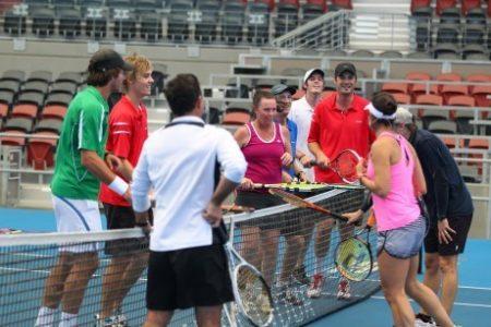 OTK starter Cardio Tennis!