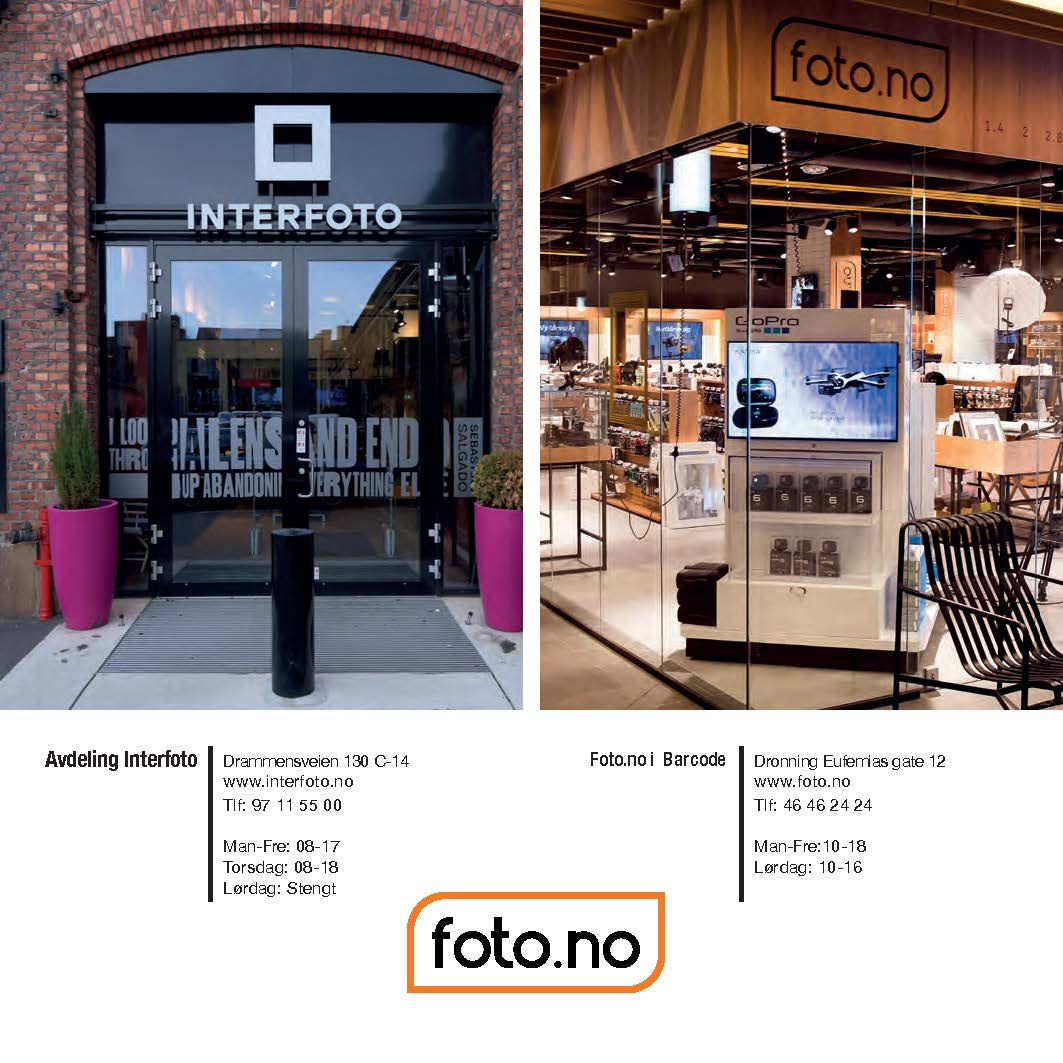 Partnership with Foto.no