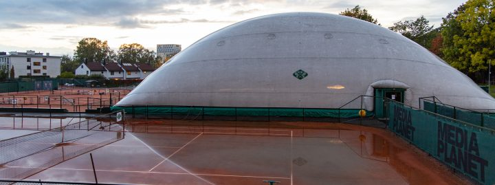 Plastic dome is closed 27/9 – 6/10