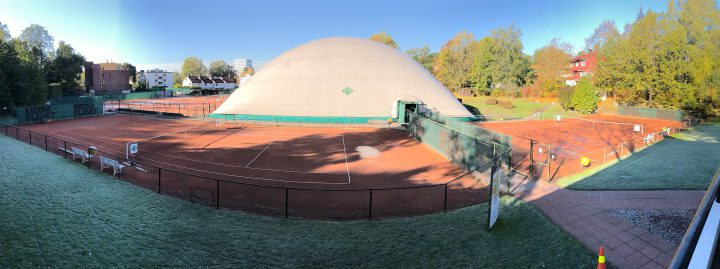 Courts 1 and 2 are closed for the season.