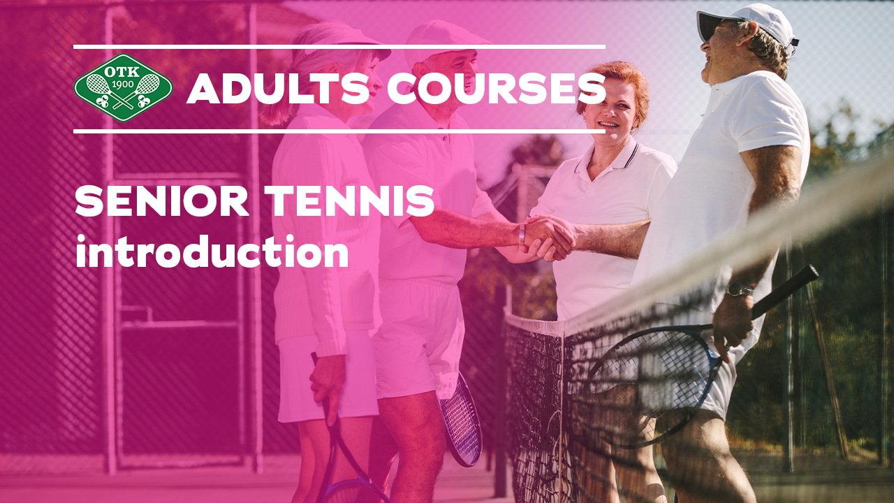 Nytt Senior tennis kurs