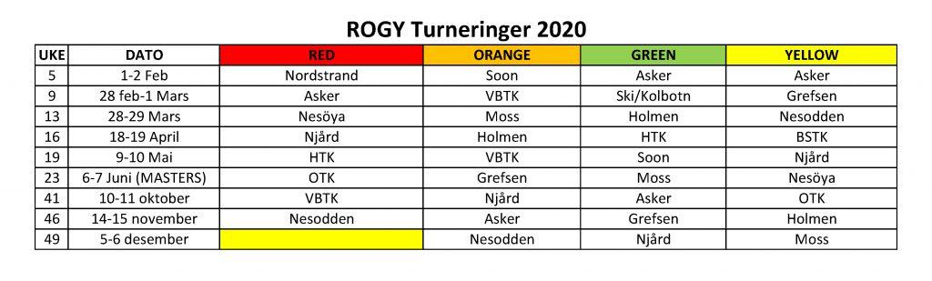 ROGY TOUR 2020