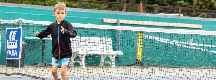 Nytt barnehage-tenniskurs